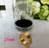 MAGNETIC RING 21mm GOLD / BAGUE MAGNETIQUE OR 21mm